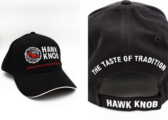 Hawk Knob Black Hat